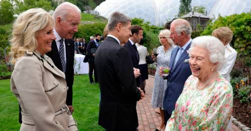 Queen pokes fun at G7 world leaders by aiming cheeky joke which leaves them laughing