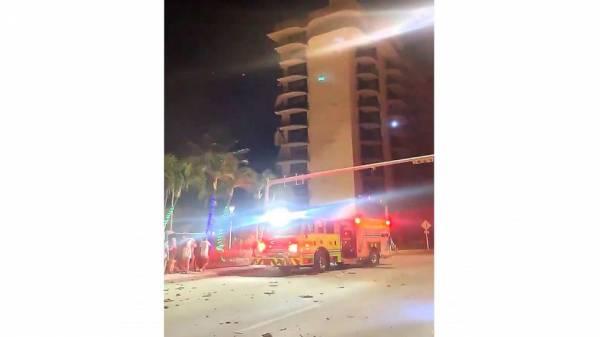 Miami-area condo collapse causes massive emergency response