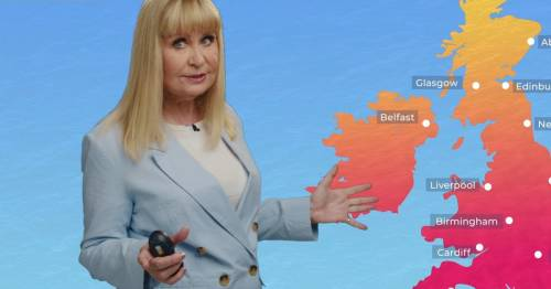 Siân Lloyd performs X-rated weather report to plug Too Hot To Handle