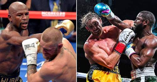 Logan Paul and Conor McGregor's performances against Floyd Mayweather compared