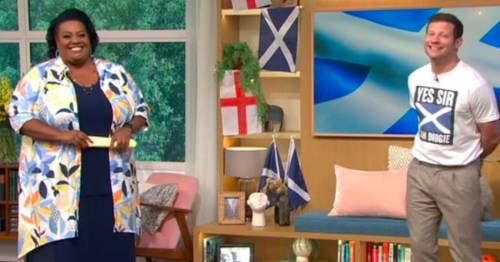 This Morning's Alison Hammond in stitches after her on-air gaffe introducing singer