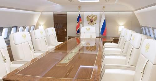 Inside Vladimir Putin's £390m plane with gold-plated toilet as arrives for Joe Biden talks - World News