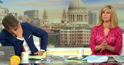 Kate Garraway in awkward blunder as she calls guest by wrong name on GMB