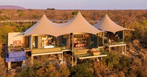 Inside the dreamy £9,072-a-night safari camp hidden away in the wilderness