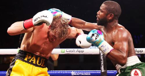 Floyd Mayweather earned $1.5m per punch in Logan Paul exhibition fight