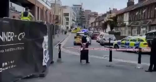 Boy, 15, dies after broad daylight stabbing 'following fight near school'