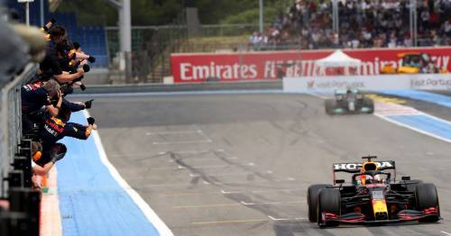Max Verstappen's late show sees him pip F1 rival Lewis Hamilton in French Grand Prix