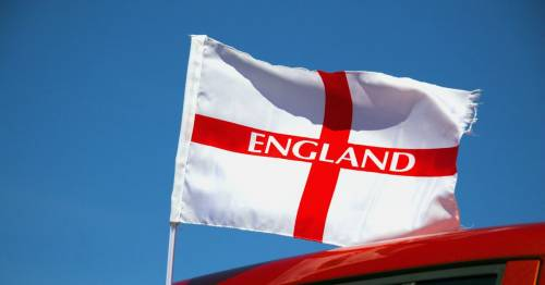 Football fans warned they could face £1,000 fine for flying England flag from cars