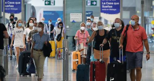 Unvaccinated holidaymakers stuck in Spain unable to get negative test to fly home