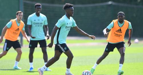 """Albert Sambi Lokonga hailed as """"natural leader"""" as Arsenal new boy makes instant impression"""