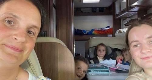 Britain's biggest family the Radfords make 'amazing memories' on Scottish holiday