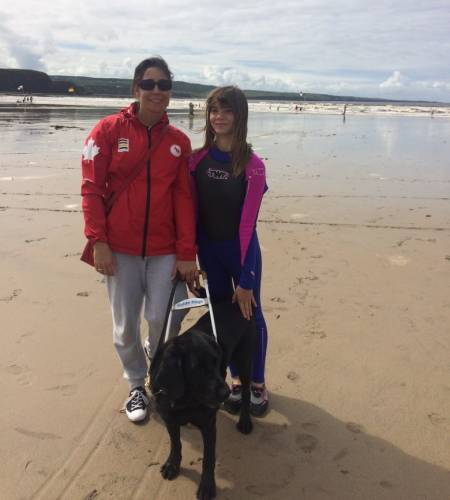 Paralympic rower denied hotel reservation because of guide dog