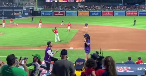 Public marriage proposal effort at baseball game ends in cringing disaster