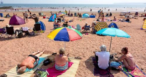UK so hot Devon and Cornwall on 'high alert' for wildfires as nation sizzles in 31C heat