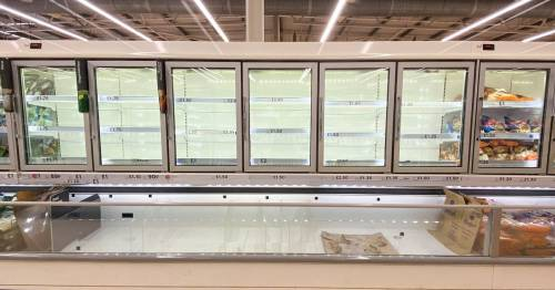 Sainsbury's warns shoppers over empty shelves as Lidl predicts 'difficult' times
