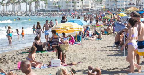 Brit tourists visiting Spain 'to dodge quarantine' as Beta variant cases fall