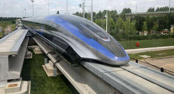 China's Speediest Train, a 600 km/h Maglev, Rolls off Assembly Line in Qingdao