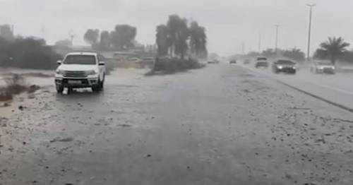 Dubai makes fake rain created by 'shocking' clouds to tackle 50C heatwave – World News