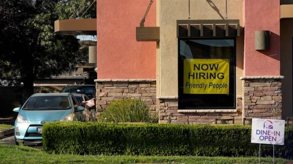 US jobless claims rise to 419,000 from a pandemic low