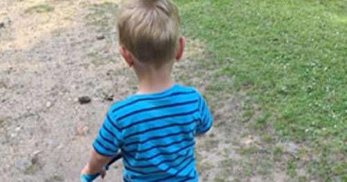 Tragic final photograph of 'cheeky' toddler, 2, who drowned in beauty spot lake