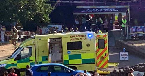 Multiple people injured after fairground ride collapses in Northern Ireland