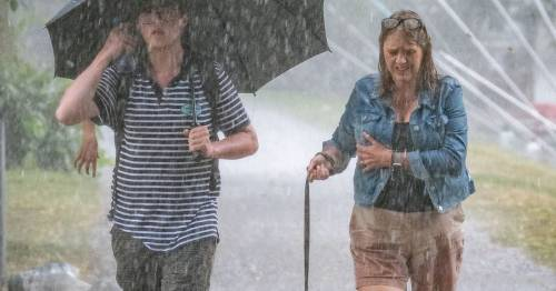 Met Office issues yellow alert for rain and floods for entire weekend after heatwave