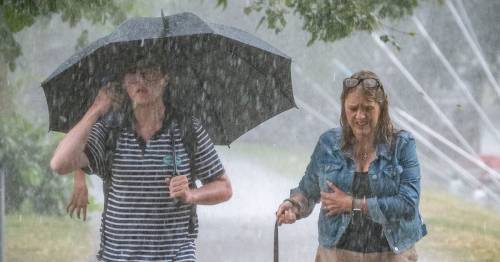 Exact time UK heatwave will end as Met Office forecasts thunder and rain