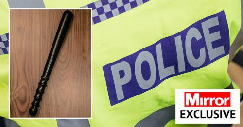 Ex-police officers asked to return batons - or risk offensive weapon fines