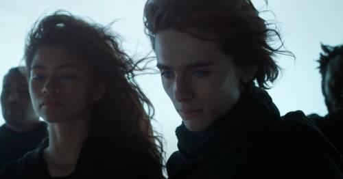 Dune trailer sees Timothee Chalamet and Zendaya lock lips in explosive sci-fi epic