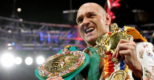 Tyson Fury earns almost $1m by selling NFT of heavyweight world titles