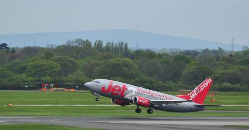 Jet 2 flight from Manchester to Greece forced to U-turn due to mid-air fault