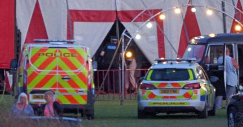 Female trapeze artist plunges 26ft in horrifying fall in front of circus crowd