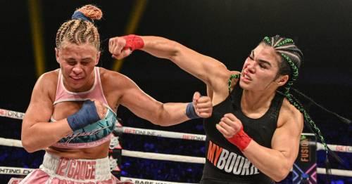 Paige VanZant's defiant message after second bare-knuckle boxing defeat