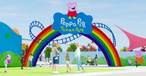 World's first Peppa Pig theme park to open in 2022 with six thrilling rides for tots