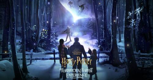 Harry Potter fans can explore the Forbidden Forest in new immersive UK experience