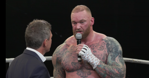 Thor Bjornsson open to fighting Mike Tyson and Tyson Fury ahead of ring return