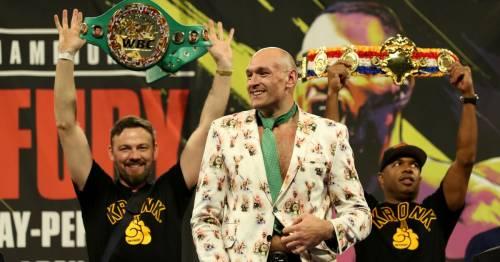 Tyson Fury explains why he wants bitter rival Anthony Joshua to beat Oleksandr Usyk