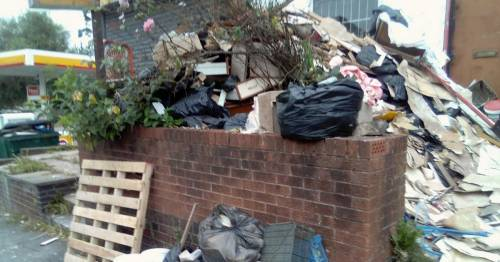 Man stopped from entering his own home by neighbour's 8ft mound of rubbish