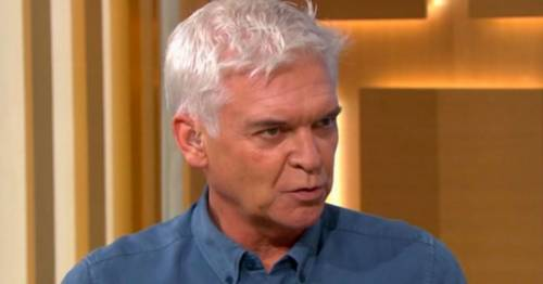 Phillip Schofield calls naked Extinction Rebellion protester 'depressing' for going topless
