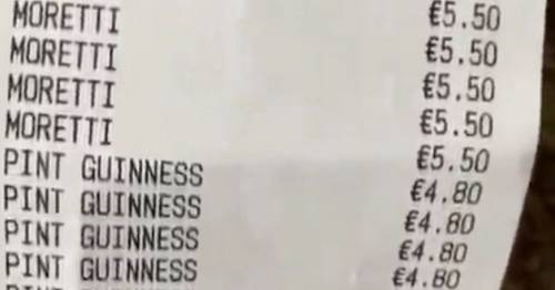 Group rack up monster bar tab after 'few quiet ones' turns into 11-hour drinking session – World News