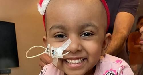 Donor found for girl, 4, who was given weeks to live after bruise turned out to be cancer