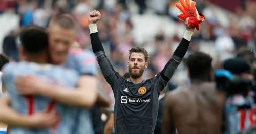 David de Gea finally ends 40-game hoodoo in Man Utd's last-gasp win over West Ham