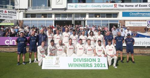 Essex make County Championship history as they clinch Division Two title