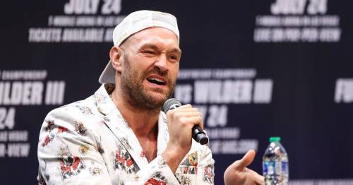 Tyson Fury's sarcastic response to claim he backed out of Anthony Joshua fight