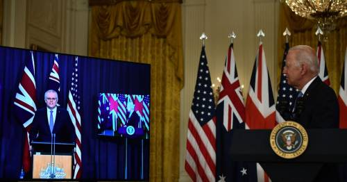 Joe Biden forgets name of Australia's PM at key nuclear submarine announcement – World News