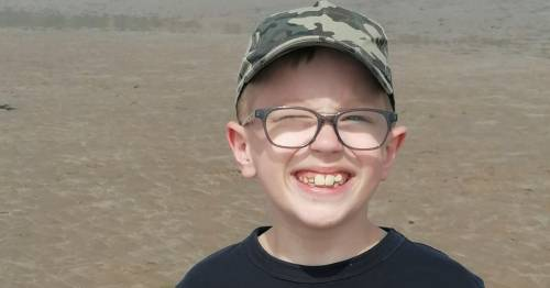 Schoolboy lucky to be alive after routine eye test diagnosed life-threatening condition