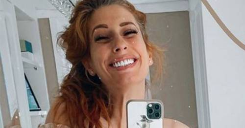 Stacey Solomon shows off baby's pram - and gets matching buggy for son Rex