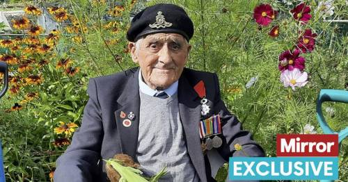 War hero turns 100 thanks to runner beans from his allotment and whisky before bed