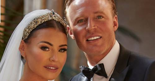 Jess Wright unveils stunning wedding dress that made guests 'gasp' when they saw it