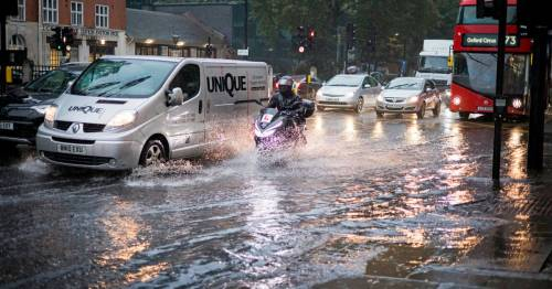 Torrential rain batters London with landmarks flooded with warning of more to come
